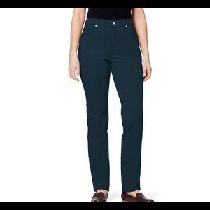 Gloria Vanderbilt Amanda classic high waist tapere